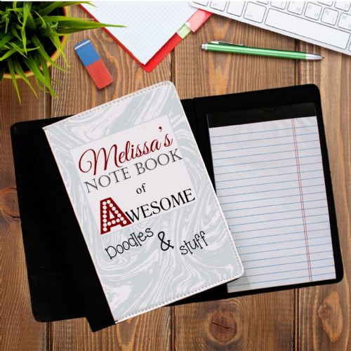 Personalised ANY NAME Notebook of Awesome Notepad with paper N4